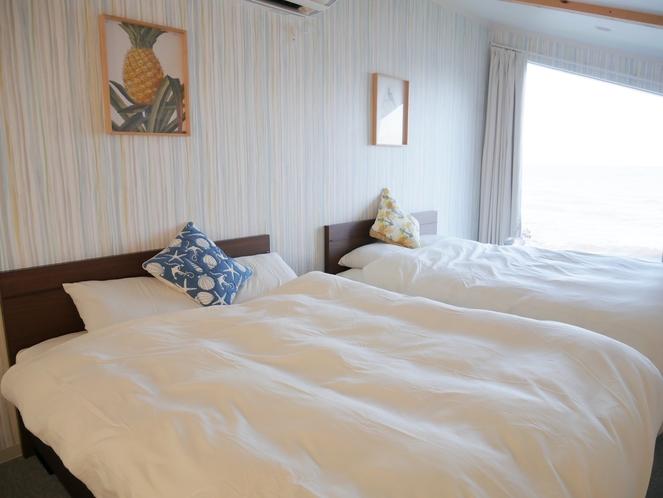 寝室からも太平洋がご覧頂けます