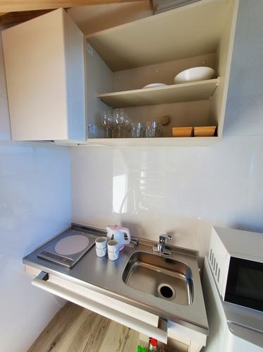 小さいキッチン付き