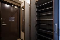 【ワイドツイン】36㎡ 玄関のシューズボックスも大型タイプ