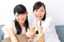 トリプルとワイドツイン(5名定員)は女子旅やご家族旅行におすすめ。