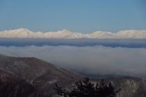 峰の原高原からは北アルプスを一望できます