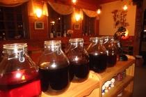 人気の自家製果実酒