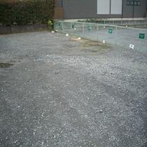 第三駐車場は10台分ご用意しています。ホテルまで徒歩1分!