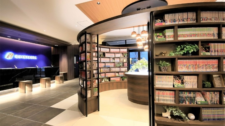 クインテッサホテル福岡天神Comic&Books