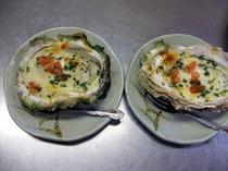 カキチーズ焼き