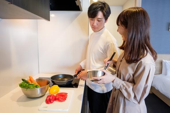 【2名限定】★カップルやご夫婦におススメ★全室キッチン付き