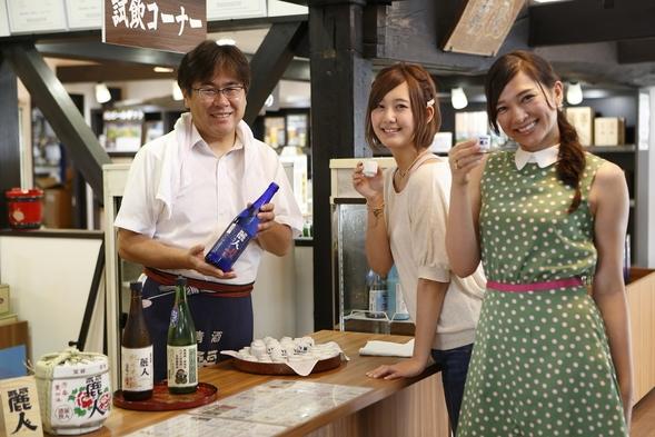日本酒お好きな方は必見!【表示価格+2,000円で!諏訪5蔵酒蔵巡り】一泊二食バイキングプラン