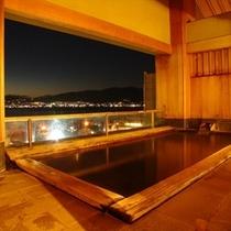 展望露天風呂天空の湯【夜景】