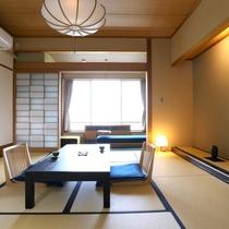 【昔心閣・和モダン客室】心地よい和室とスタイリッシュな居心地