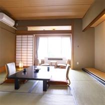 【昔心閣・客室一例】四季折々の風情を感じる和のくつろぎ空間