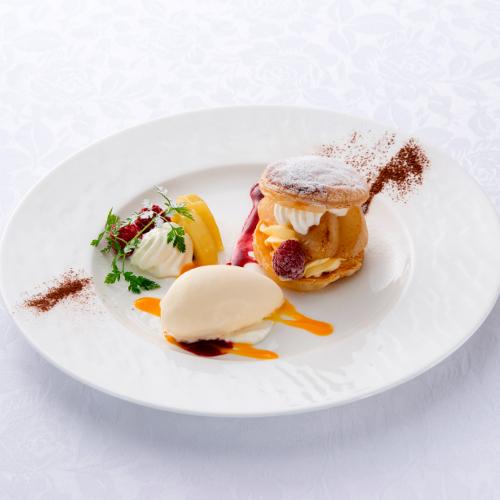 【ご夕食】デザート一例