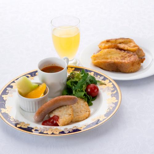 【ご朝食】お子様料理一例