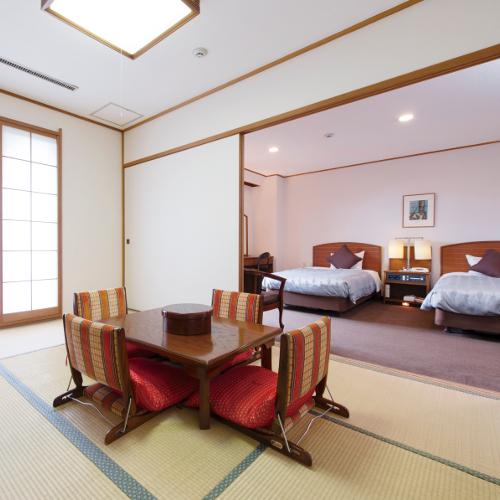 【客室】禁煙和洋室 42m2