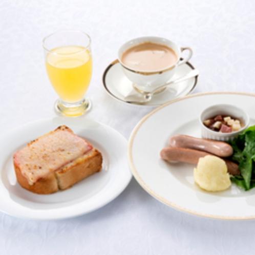 【ご朝食】クロックムッシュ