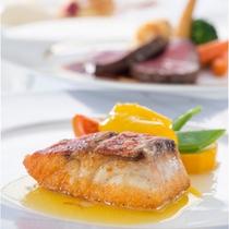 【ご夕食】メインお魚料理一例