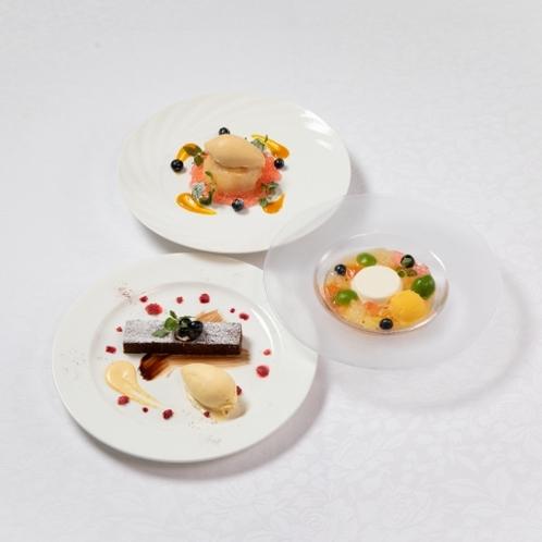 【ご夕食】デザート料理一例