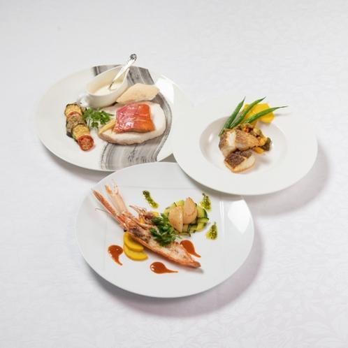 【ご夕食】お魚料理一例