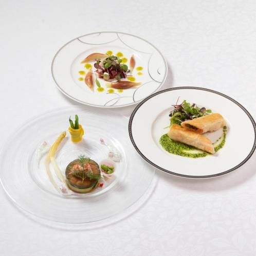 【ご夕食】前菜料理一例