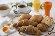 焼き立てアツアツ・こだわりの朝食メニュー