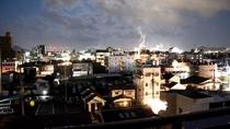 中層階ルームからの夜景(新居浜市街を望む)