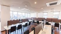 2階レストラン「70席」