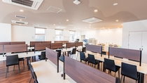 2階レストラン「70席」営業時間 毎朝6時45分~9時00分まで