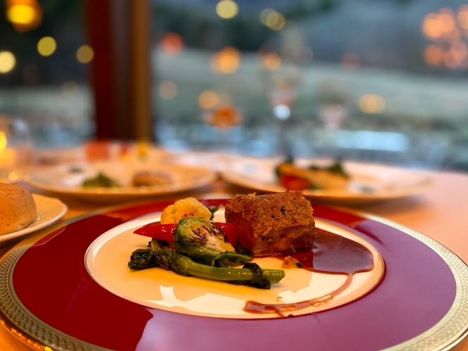 【春のディナー】長野県を中心とした素材を活かしたフランス料理をお楽しみ下さい♪♪