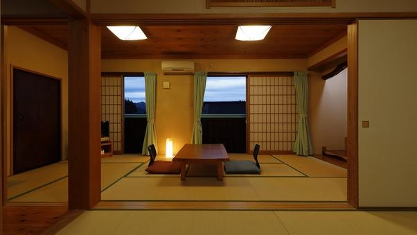 寛ぎの空間に佇む離れ特別室【高城】(6畳+9畳)
