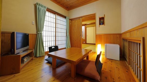 寛ぎの空間に佇む離れ和室【瑠璃・頬白】(6畳+4.5畳)