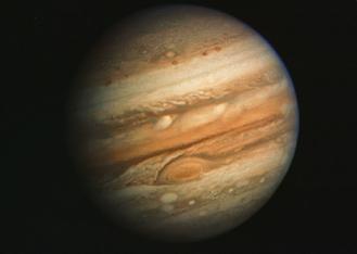 太陽系最大の惑星木星