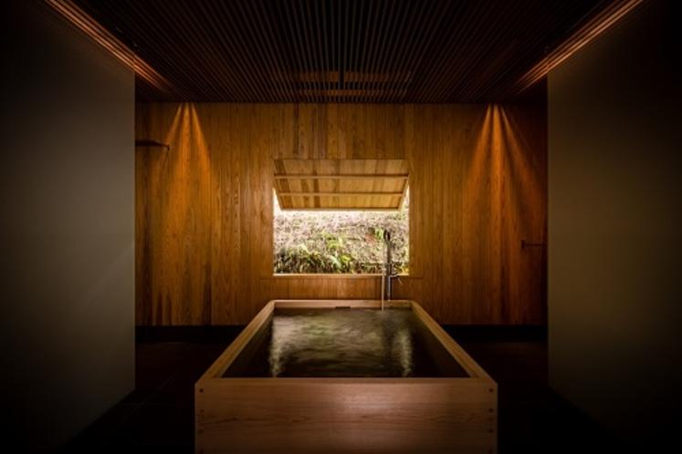 スイート限定檜風呂