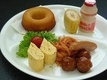 朝食(お子様用)