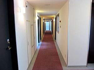 廊下の状況です