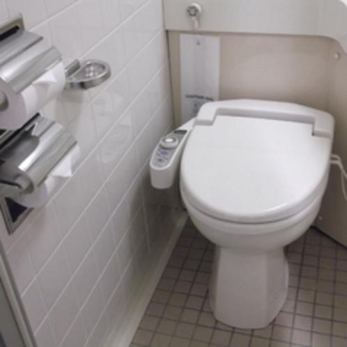 客室備え付けウォシュレット付きトイレ