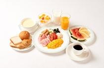 朝食内容一例
