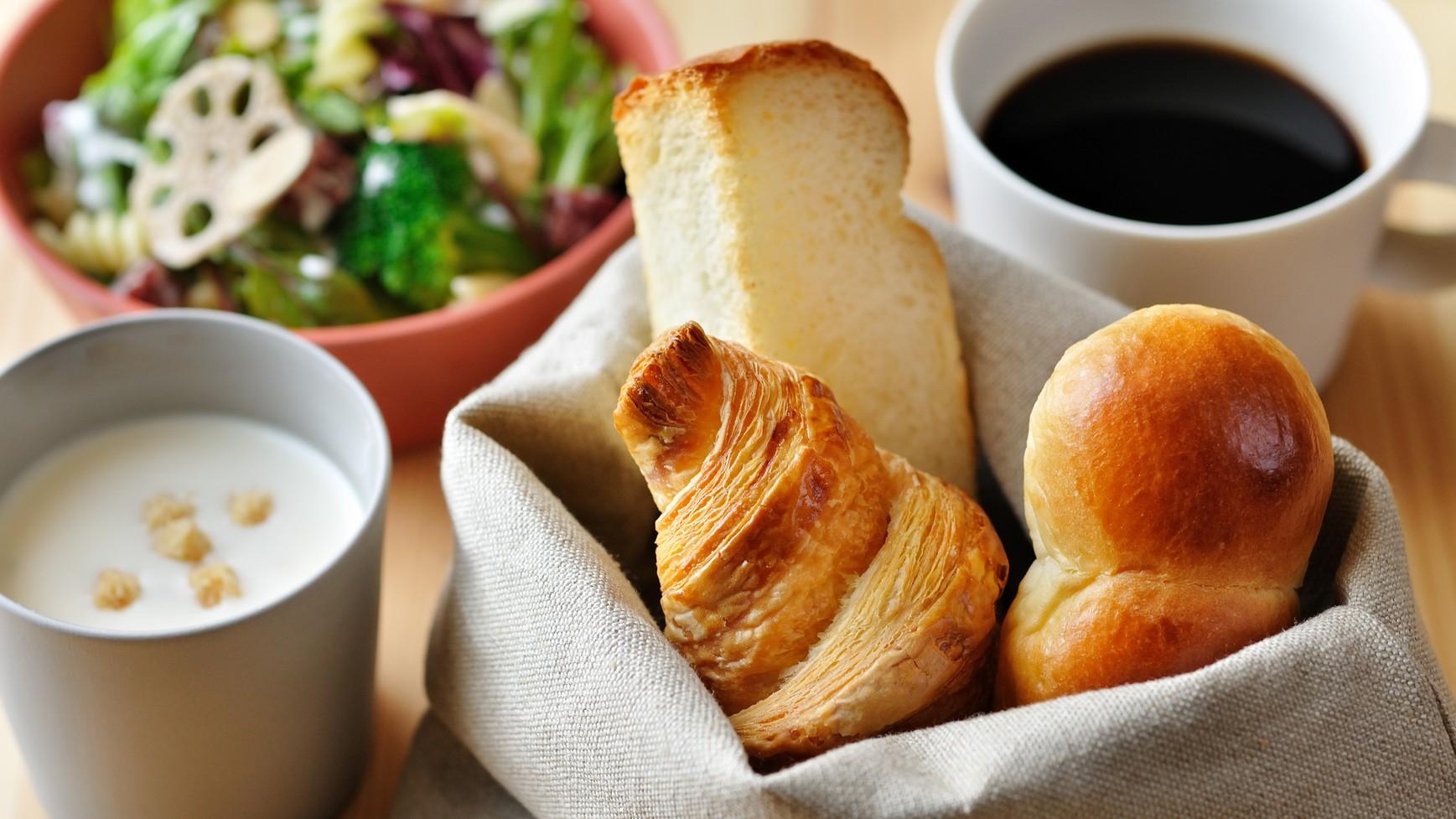 OMOカフェ朝食(パンセット)