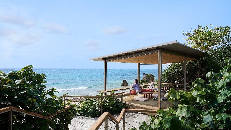 星野リゾート バンタカフェ(海辺のテラス)
