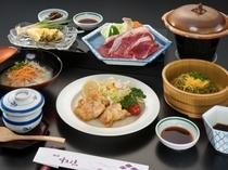 学生ぷらん用の夕食一例
