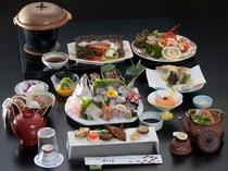 2014年忘・新年会用 『すえよ志会席 松』料理一例