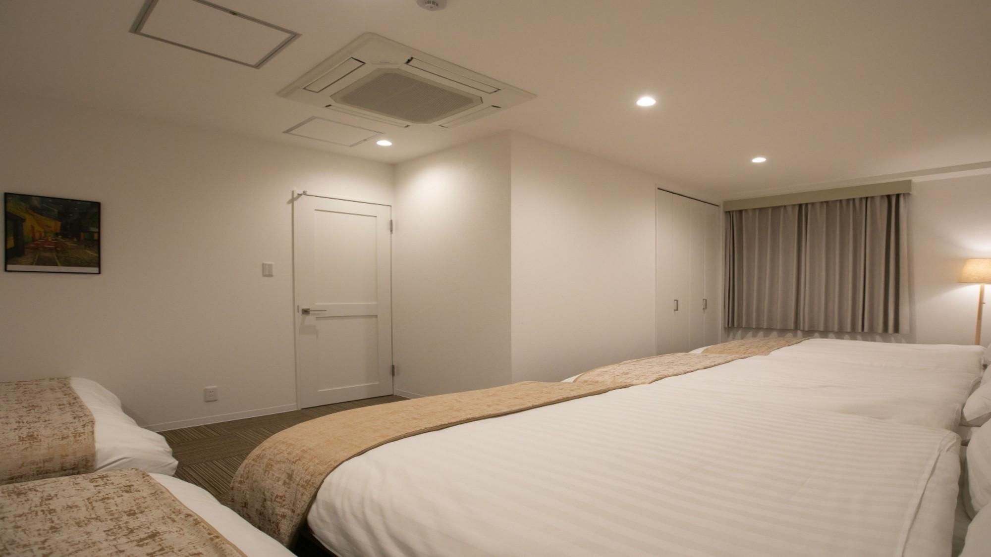 アパート401(ファミリールーム)|寝室