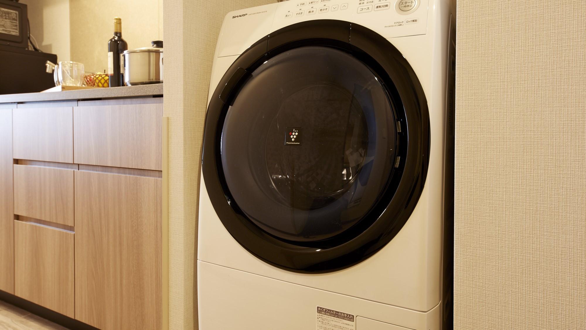 全室に洗濯乾燥機付!