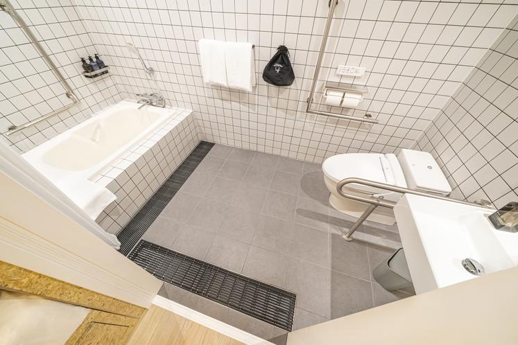 One of a Kind Plus(スタジオユニバーサル)バスルーム