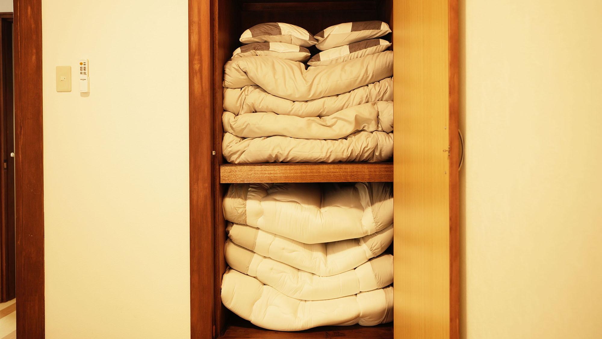 ・201号室:お布団の上げ下ろしはご自身でお願いいたします