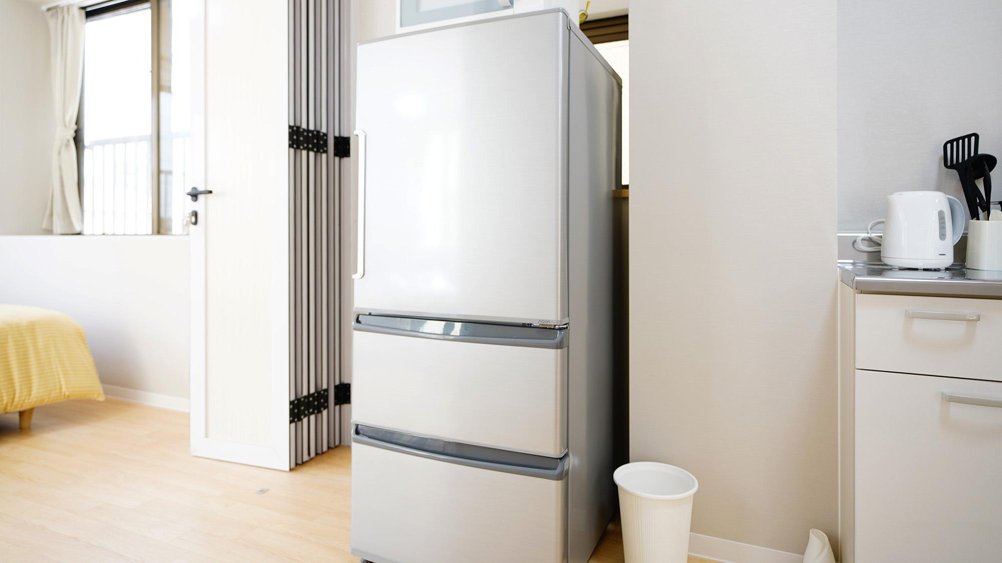 ・201大きな冷蔵庫も完備