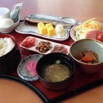 朝食セットメニュー一例
