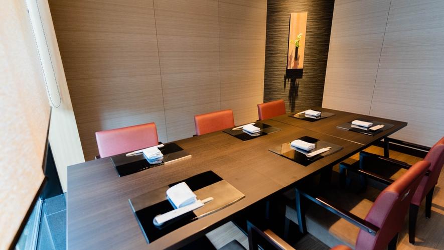 和食処「雲波(くもなみ)」個室をご用意しております。