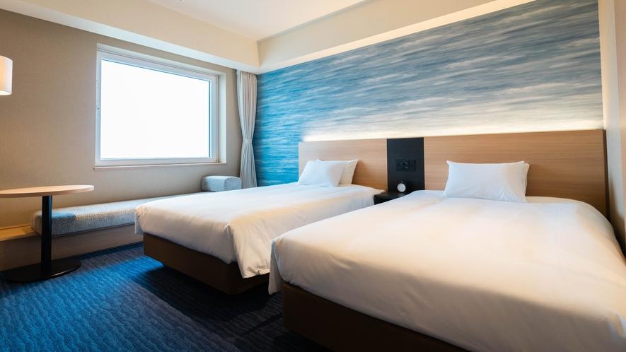 旅館のようにお過ごし頂ける寛ぎの空間です。かつ機能性を重視したお部屋です。