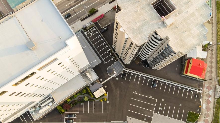 上空駐車場