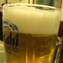 天然温泉のあとはビールでプハーッ!っと、いかがです?