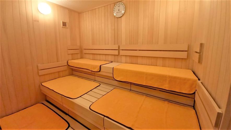 【大浴場】男湯:サウナ
